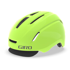 Giro Caden Led Fietshelm, matte highlight yellow